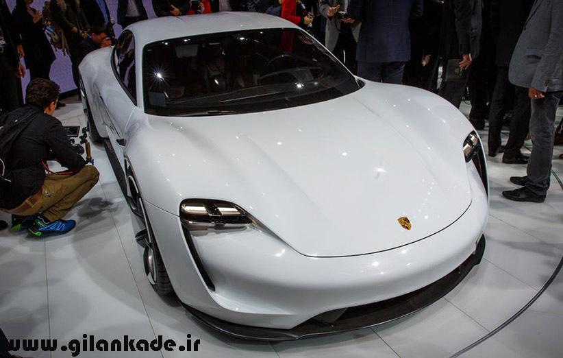 معرفی مدل جدید اتومبیل هیبریدی شرکت پورشه با نام Mission E