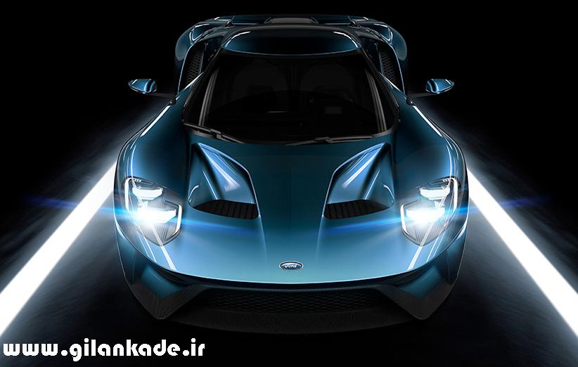 جنس شیشهی Ford GT جدید گوریلا گلس است