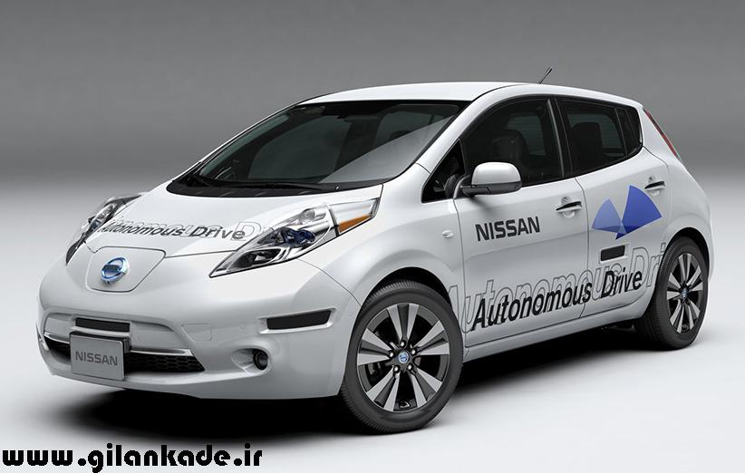 نیسان آزمایش خود را بر روی خودروهای بدون راننده اش آغاز کرد