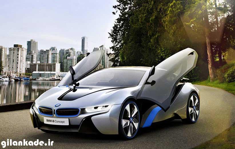 نگاهی به خودروی فرازمینی BMW i8