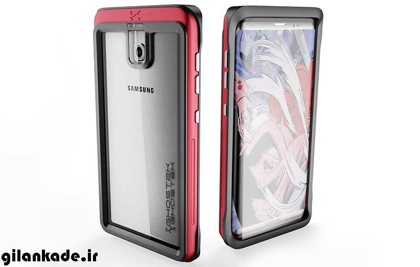 با توجه به  قاب Galaxy S8 نگاهی هم  به خود گوشی بیاندازید