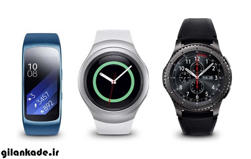 ساعتهای هوشمند Gear S روی آیفون هم کار میکنند