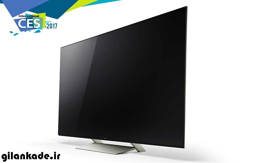 سونی از تلویزیونهای جدید خود در CES 2017 رونمایی کرد