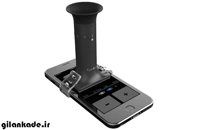 با تلفن همراه قدرت بینایی خودتان را بسنجید