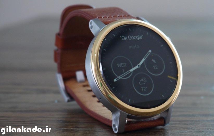 موتورولا فعلا ساعت هوشمند نمیسازد