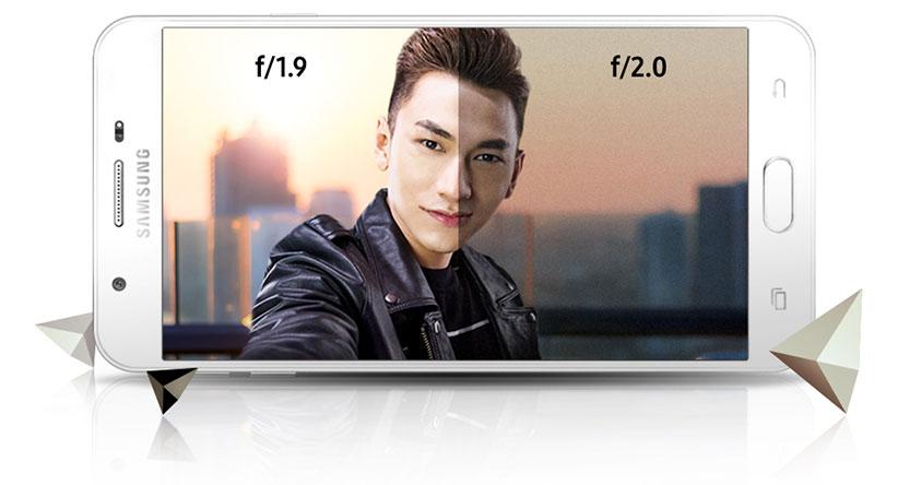 دوربین گوشی Samsung Galaxy J7 Prime