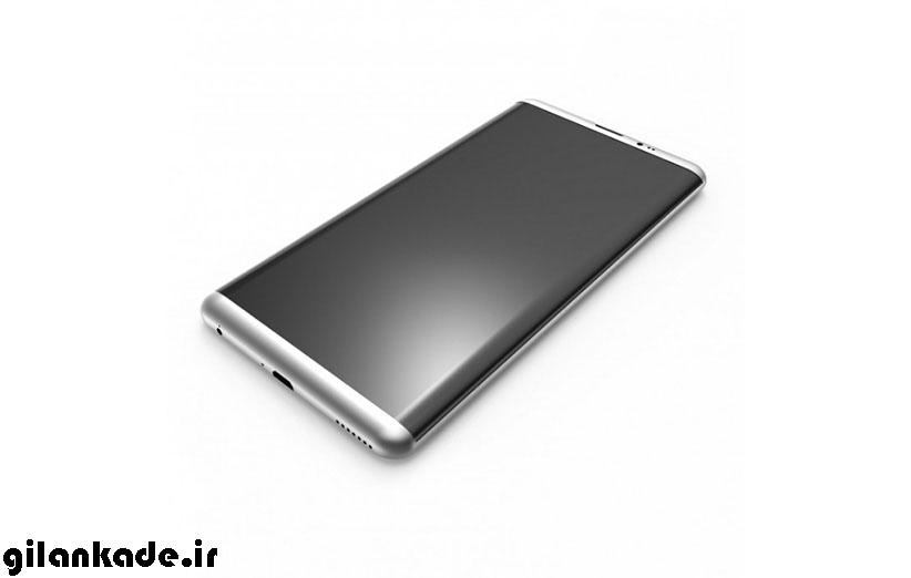 ابعاد گلکسی S8 و گلکسی S8 پلاس مشخص شد