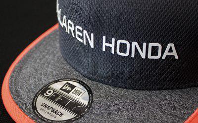 همکاری تیم اتومبیل رانی مک لارن با یک شرکت تولید کننده کلاه