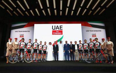 حمایت مالی هواپیمایی امارات از تیم دوچرخه سواری این کشور