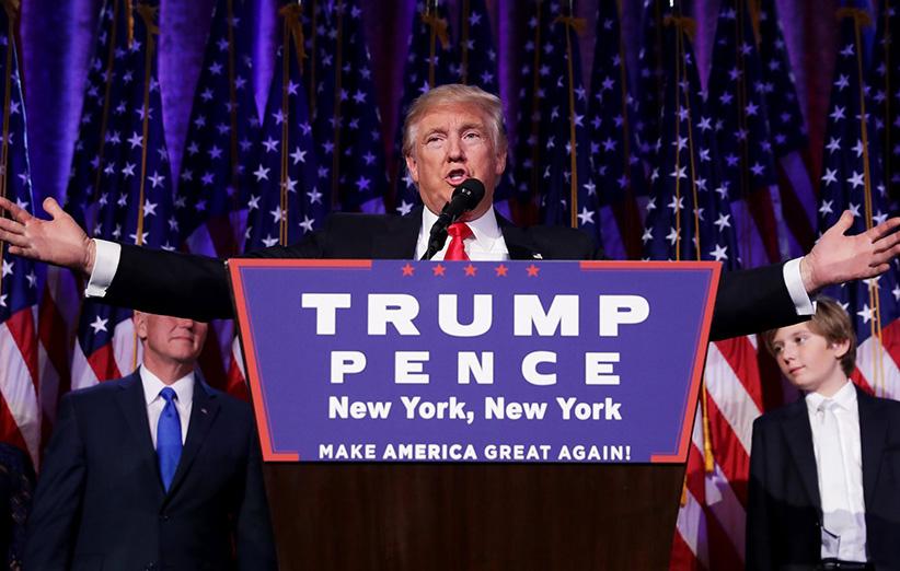 دونالد ترامپ؛ چهل و پنجمین رییس جمهور آمریکا شد